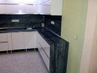 Угловая кухня №01