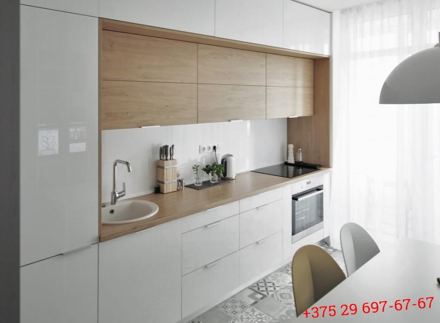 Кухня из акрила №05