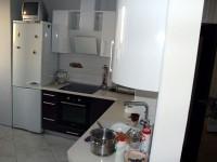 Кухня из акрила №06