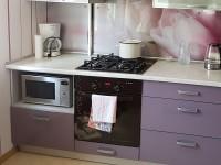 Кухня из пластика №02