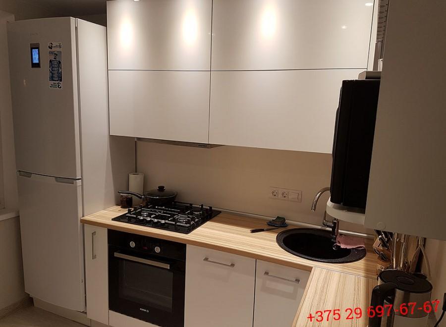 Кухня из пластика №05