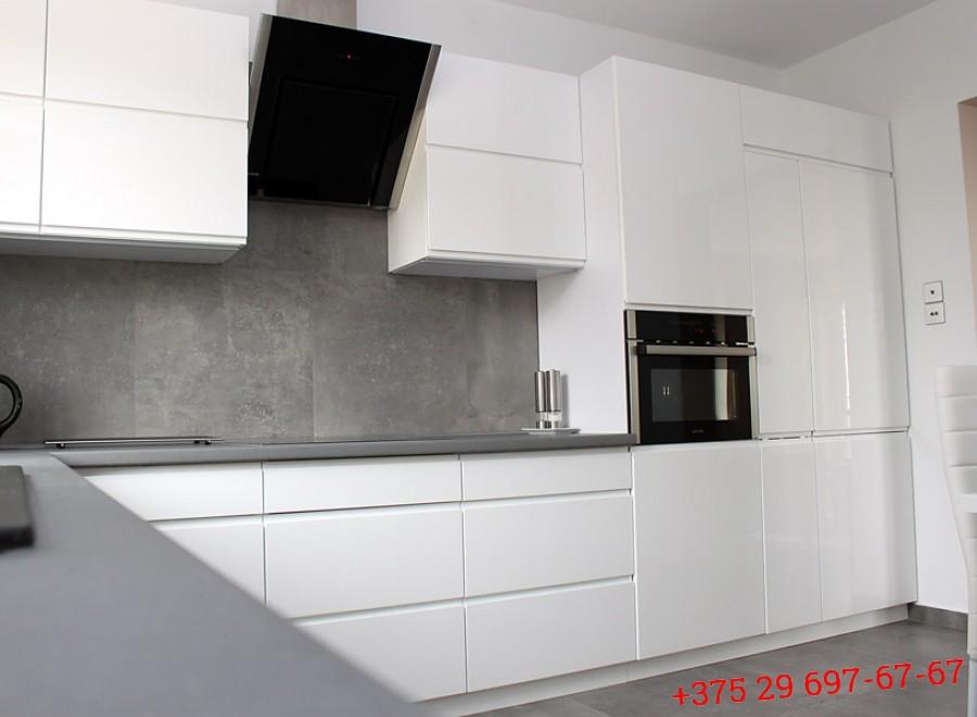 Кухня из МДФ крашеного №04