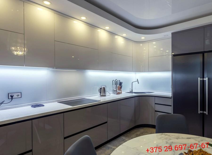 Кухня из МДФ крашеного №05
