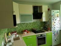 Кухня из МДФ крашеного №08