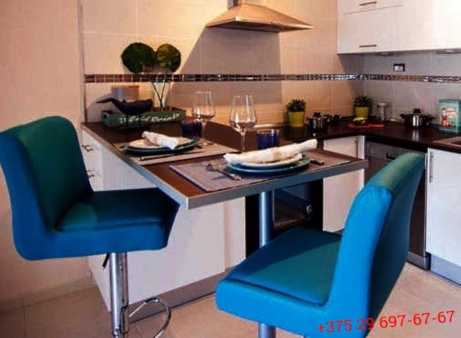 Кухня с барной стойкой №06