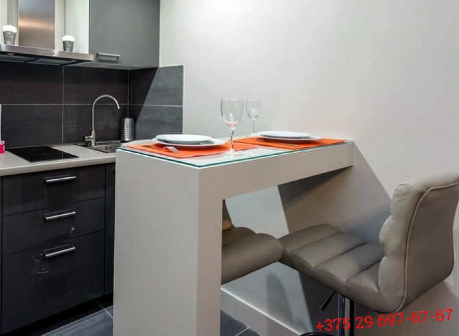 Кухня с барной стойкой №08