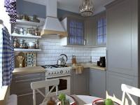 Кухня в хрущевку №05