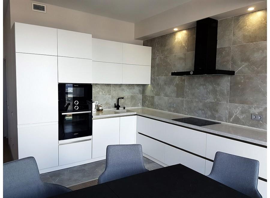 Кухня без ручек №01
