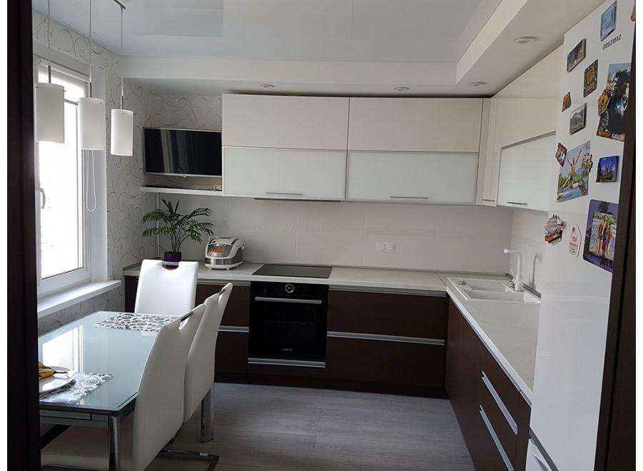Кухня из пластика №03